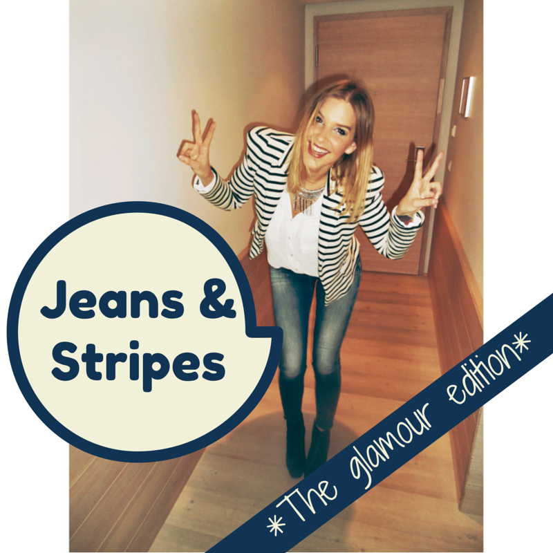 Jeans & Stripes The Glamour Edition