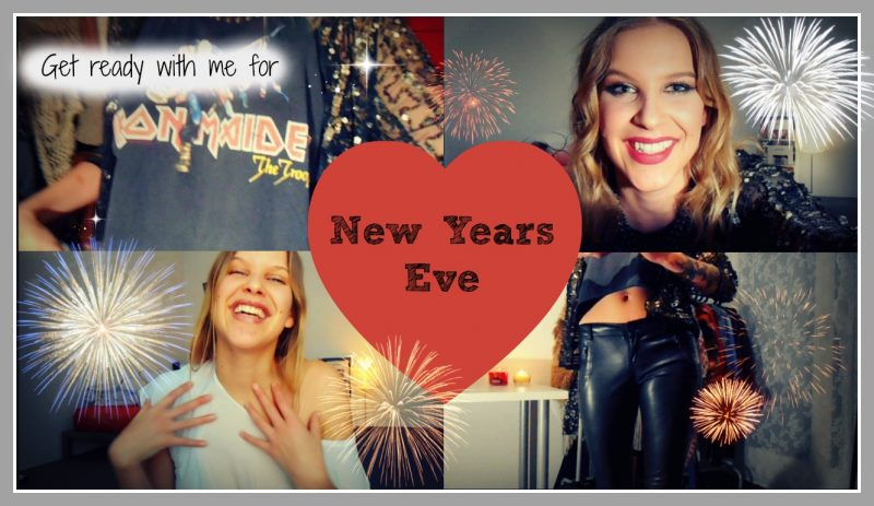 Get Ready With Me for DJing at New Years Eve – Hair, Makeup and Outfit Idea