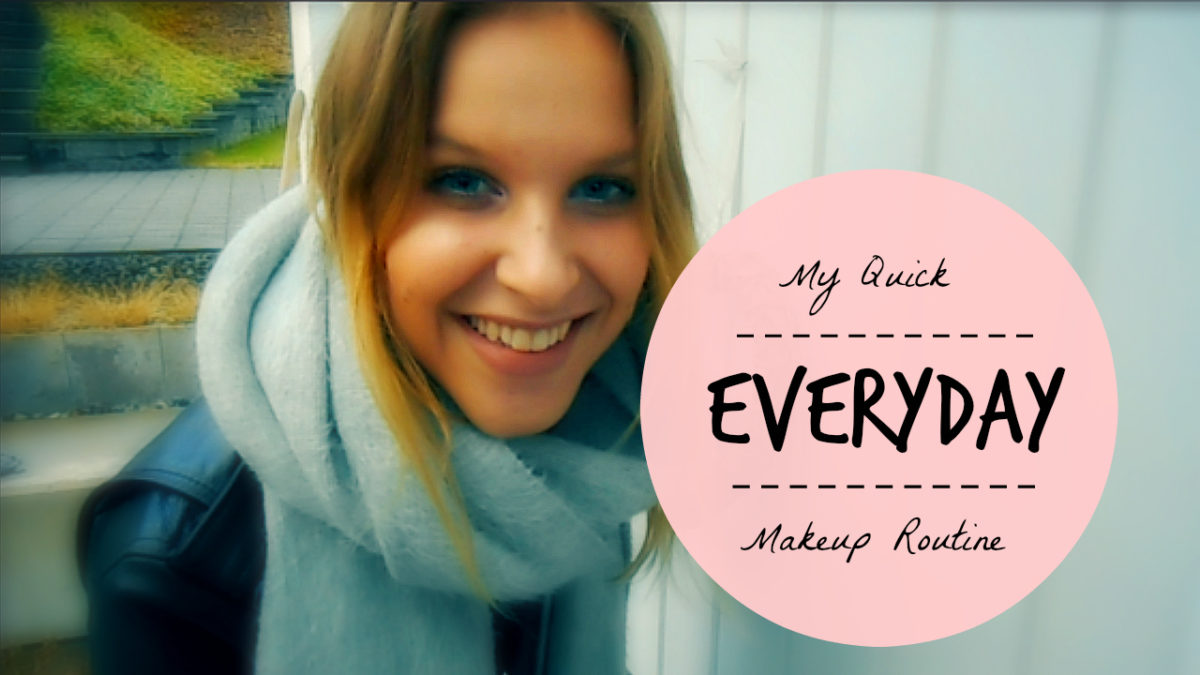 My Quick Everyday Makeup Routine Thumbnail 2 copy