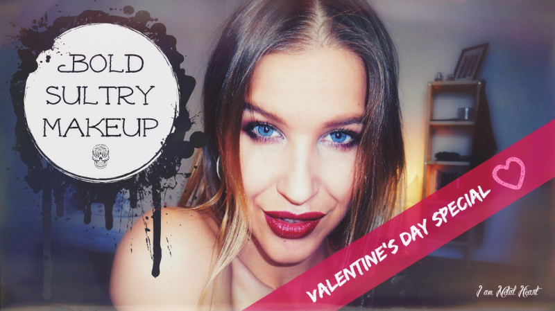 Bold And Sultry Makeup Look Tutorial – Valentine's Day Special