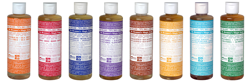 Dr. Bronner Magic Soaps Collection