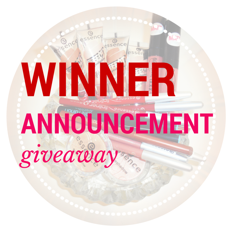 Makeup Giveaway Winner Announcement – I am Metal Heart