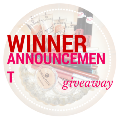 Giveaway Announcement I am Meal Heart Makeup