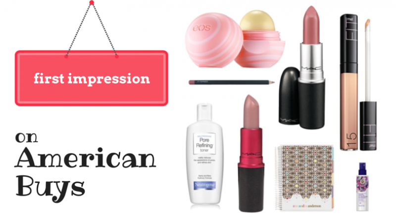 My First Impressions on American Buys