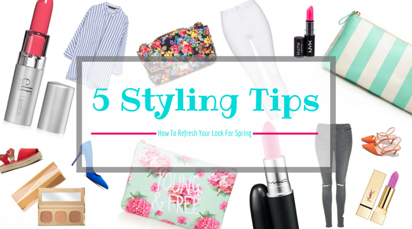 5 styling tips on how to refresh your spring look i am metal heart