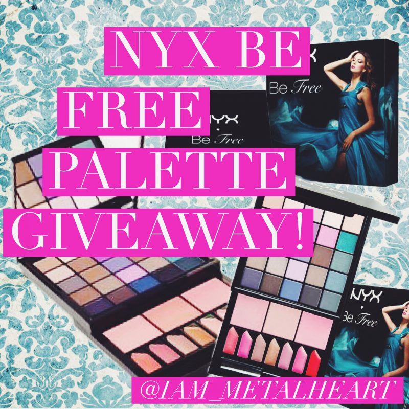 Win A NYX Be Free Makeup Palette