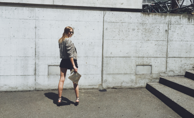 Industrial City Chic and the Power of High Heels