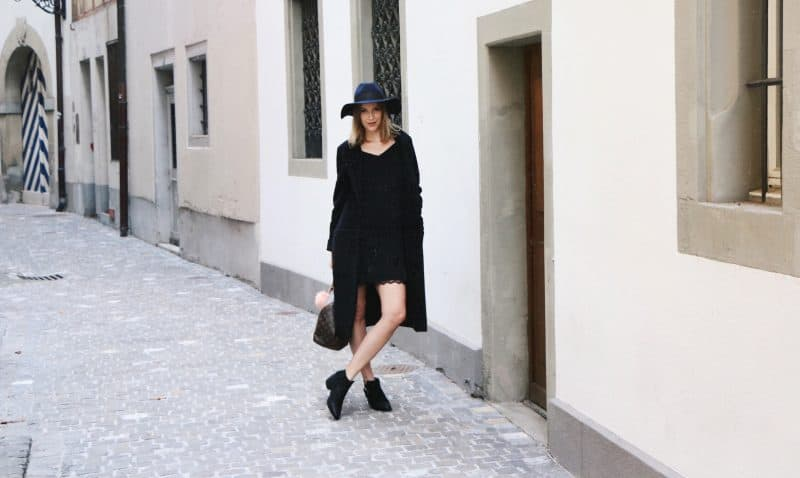 All Black Everything with La Redoute