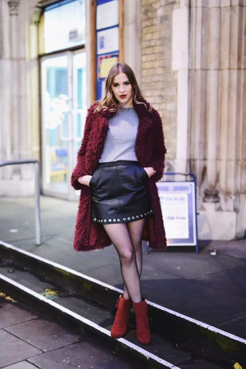 London Nigkhtout Look and Exciting News I am Metal Heart Swiss Fashion Blogger